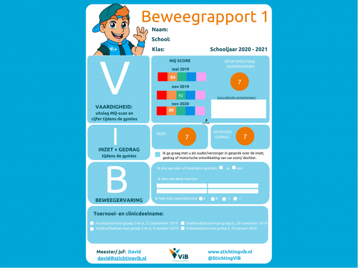 ViB Beweegrapport